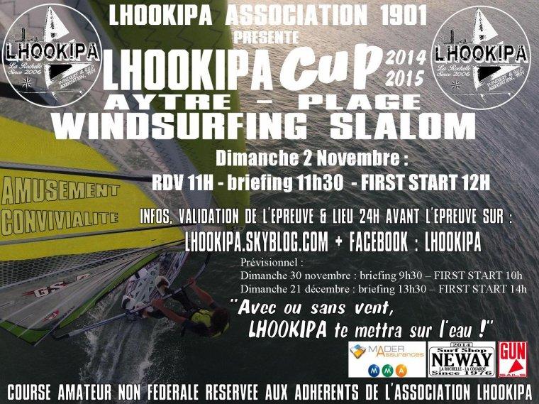 Lhookipa CUP n°4 : Dimanche 2 Novembre !