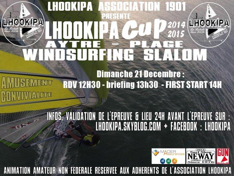 LHOOKIPA Cup N°6, Windsurf N°3 : 21 décembre, météo défavorable !!!