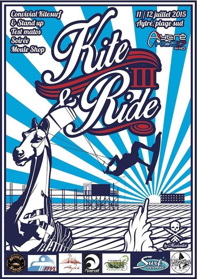 LHOOKIPA sur la Kite&Ride Party III