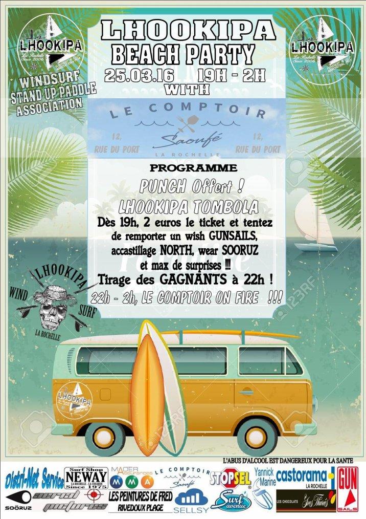 LHOOKIPA Beach Party