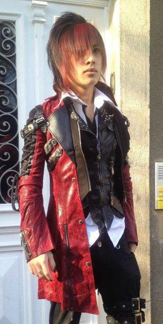 Mon Jolie manteau rouge