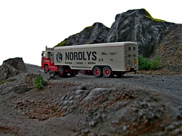 Albedo Scania LBS  111/141 1/87 H0 Nordlys Transport