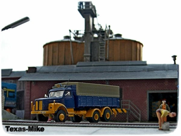 "BREKINA 85010 1:87 Scania L 110 PP-LKW ""Economy""  ASG"