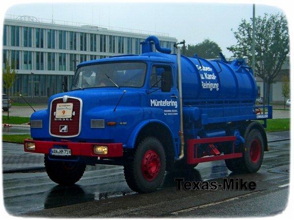 MAN Hauber Schlamm- saugwagen Müntefering