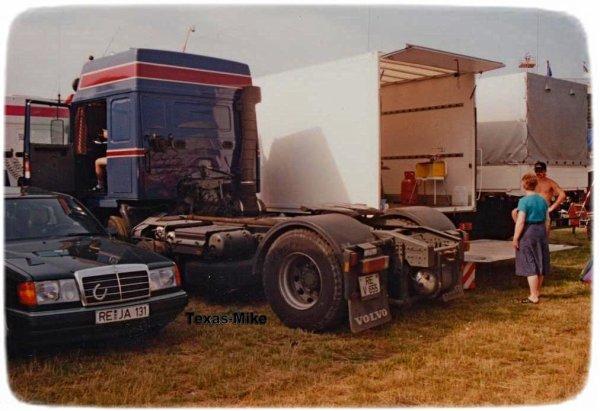 Volvo Globetrotter F12 F16 Spanien Tour
