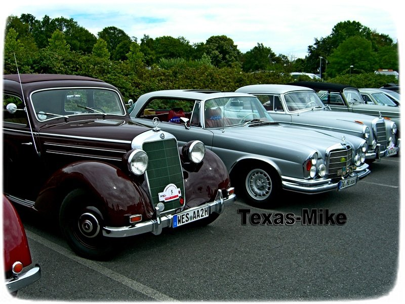 Mercedes-Benz Oldtimer 45 Jahre MVC Ruhr in Dortmund