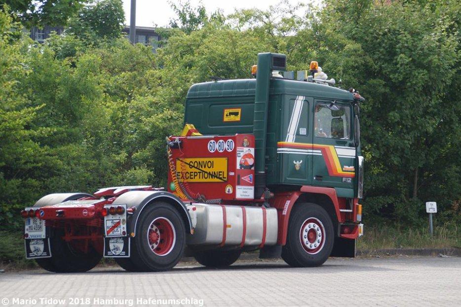 Volvo F12 Bilspedition