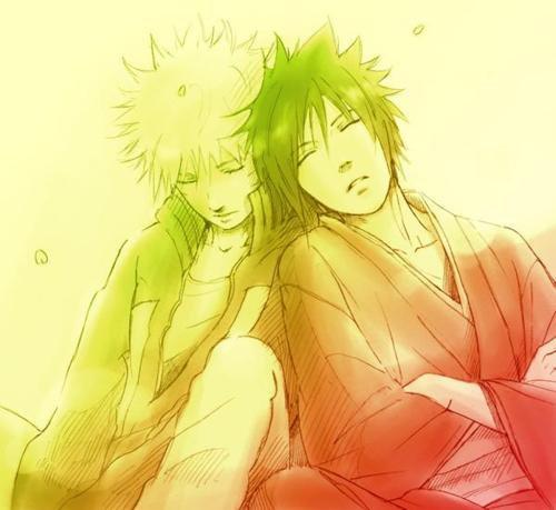 Naruto et Sasuke amour ou haine ???