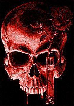 La tête de mort d'un vampire :)