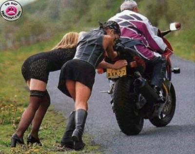 moto en panne