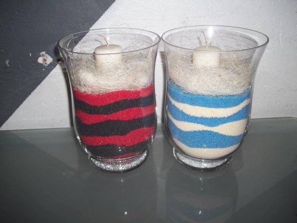vase duo couleur