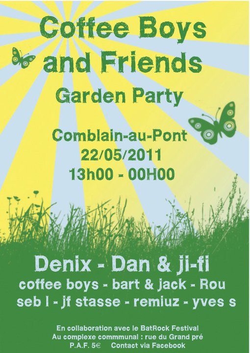 Coffee Boys & Friends at BatRock Festival