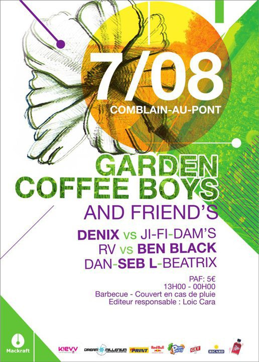 Coffee Boys & Friends, Garden Party 2011