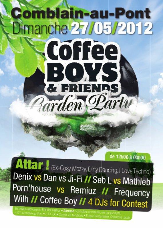 Prochaines éditions de Garden Party , le 27 mai 2012 à Comblain-au-Pont !