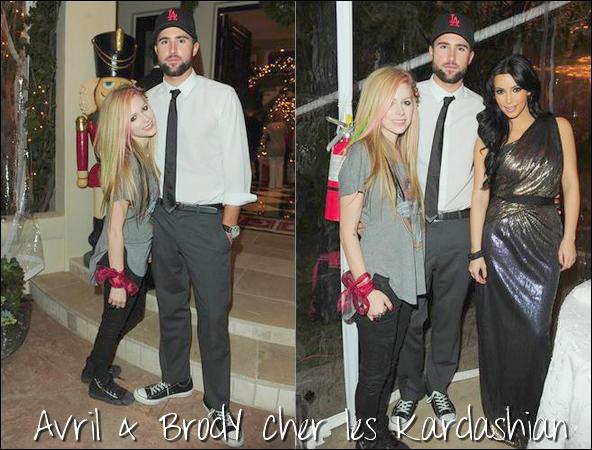 Avril & Brody se sont rendus le 24 décembre à une soirée organisée par la famille Kardashian à Los Angeles + Inerview sur son new single & Abbey Dawn
