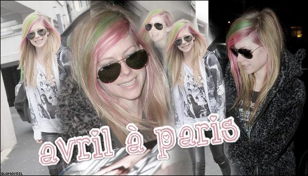 Avril à PARIS ! Candids + Programme