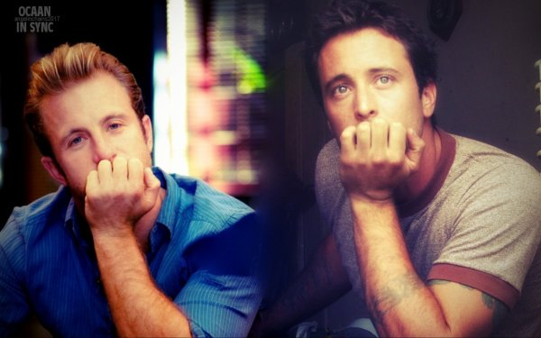 Scott caan & Alex O'Loughlin