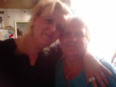 moi et ma maman que j aime tres fort