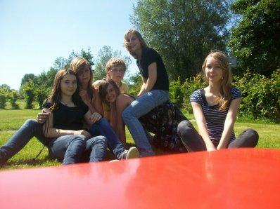 C'est avec eux, que j'aime prendre le bus. :)