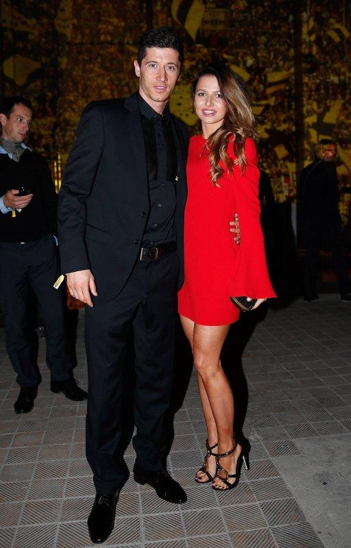 Robert Lewandoski & Sa Femme Anna (Bayern Munich)