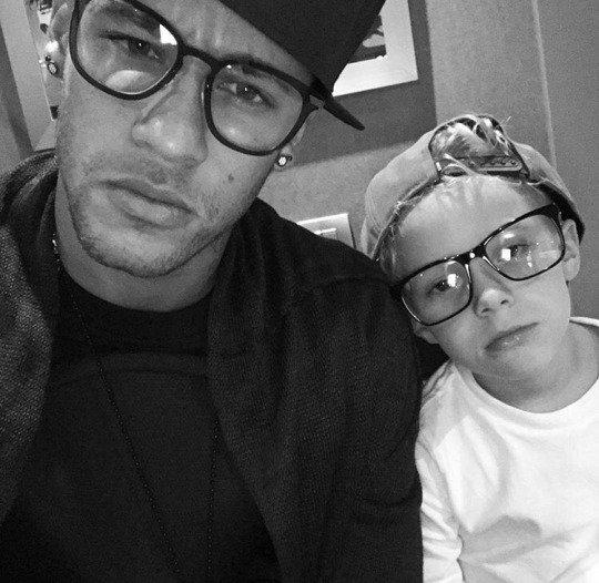Neymar & Son Fils Davi Lucca ( Fc Barcelone )