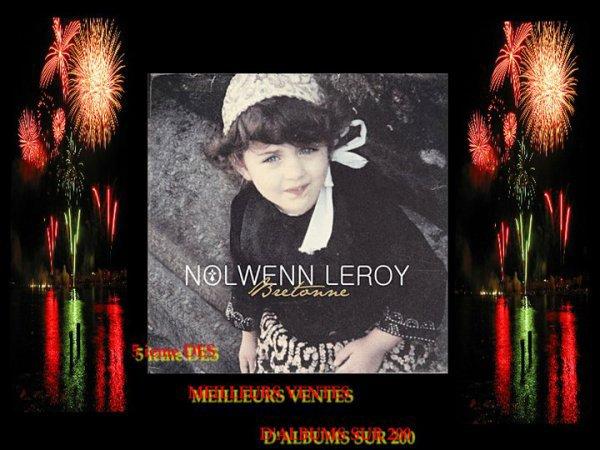 NOLWENN GAGNE 3 PLACES DANS LE TOP 200 DE VENTES D'ALBUMS EN FRANCE !!!!!!!!! ELLE EST 5 e