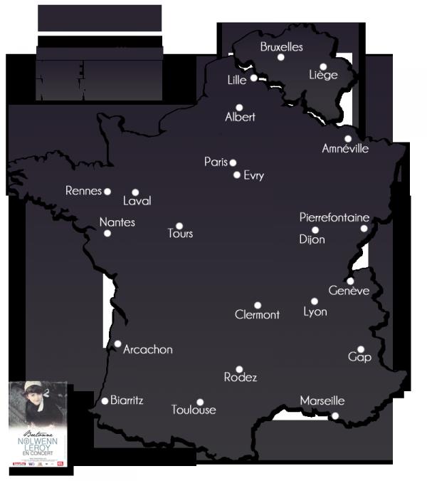 NOLWENN LEROY EN SHOWCASE AU MAGASIN LECLERC A RÉZÉ ( 44 loire atlantique ) ( 14 mars 2011 )