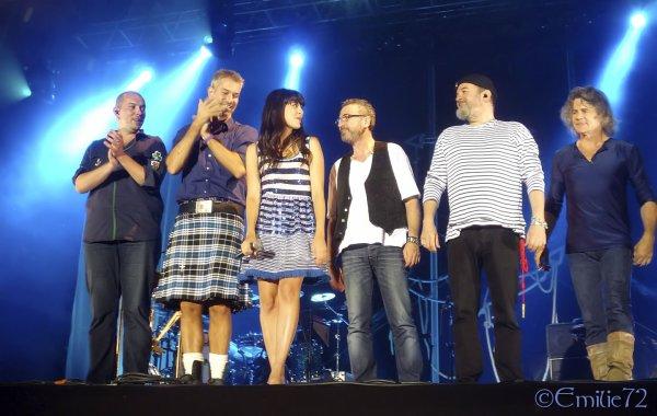 NOLWENN EN CONCERT A Saint Sébastien sur Loire , LE 22 JUIN 2012 ( loire atlantique ) :