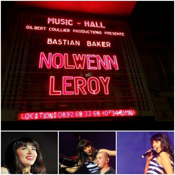 NOLWENN LEROY EN CONCERT A L'OLYMPIA DE PARIS , LE 13 / 14 / 15 DÉCEMBRE 2012