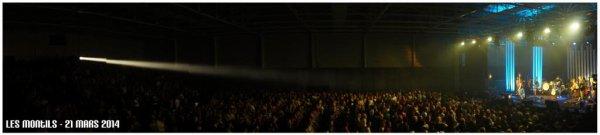 """62e CONCERT """" O TOUR DE L'EAU """" A LES MONTILS ( 41 ) , LE 21 MARS 2014"""