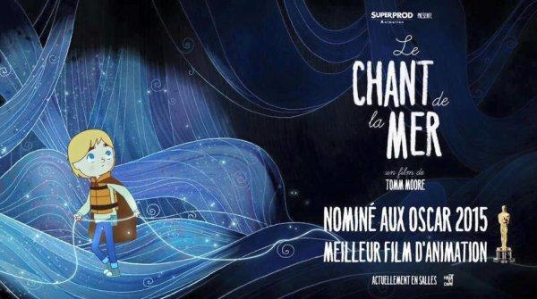 """NOLWENN LEROY INVITÉE A LA CEREMONIE DES CESARS 2015 POUR LE FILM D'ANIMATION """" LE CHANT DE LA MER """" OU ELLE DONNE SA VOIX , LE 22 FÉVRIER 2015"""