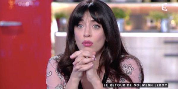 """NOLWENN LEROY INVITÉE SUR LE PLATEAU DE """" C AVOUS """" SUR FRANCE 5 LE 5 JUIN 2017"""