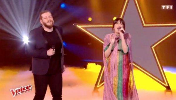 NOLWENN LEROY INVITÉE SUR LE PLATEAU DE THE VOICE SUR TF1 LE 10 JUIN 2017