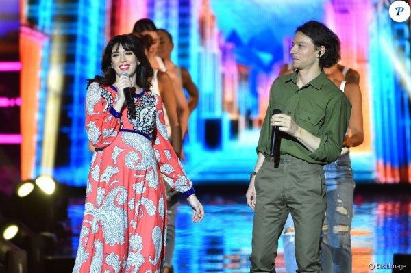 """Nolwenn Leroy invitée dans l'émission : """" la chanson de l 'année """" sur tf1 le 17 juin 2017 ( 2 )"""