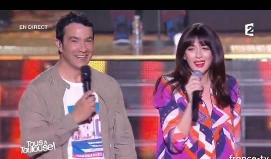 Nolwenn Leroy invitée pour la fête de la musique sur France 2 dans l'émission  tous a Toulouse ! le 21 juin 2017 ( 1 )