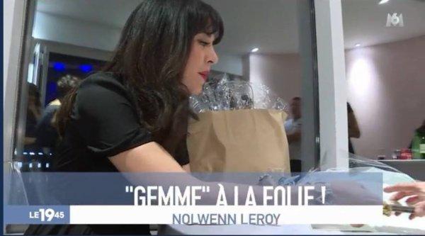 Nolwenn Leroy au JT de M6 le 31 août 2017 ( 3 et fin )