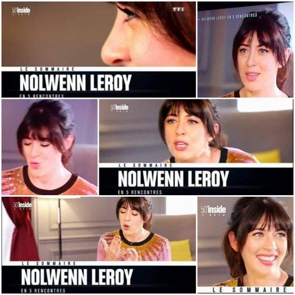 Nolwenn Leroy dans l 'émission 50 minutes inside sur tf1 le 9 septembre 2017