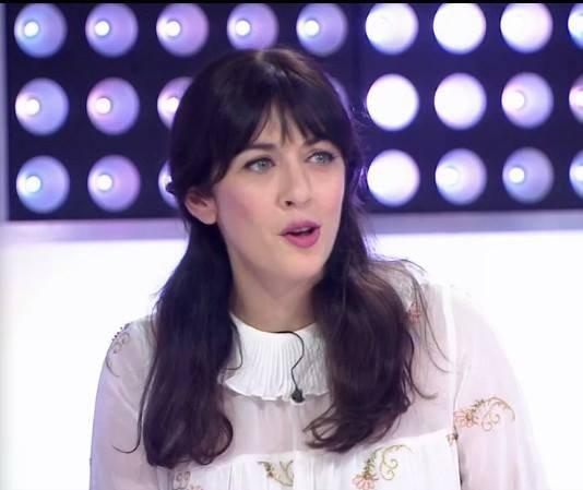 """Nolwenn Leroy dans l'émission """" C'est au programme """" sur  France 2 le 14 septembre 2017 ( 1 )"""