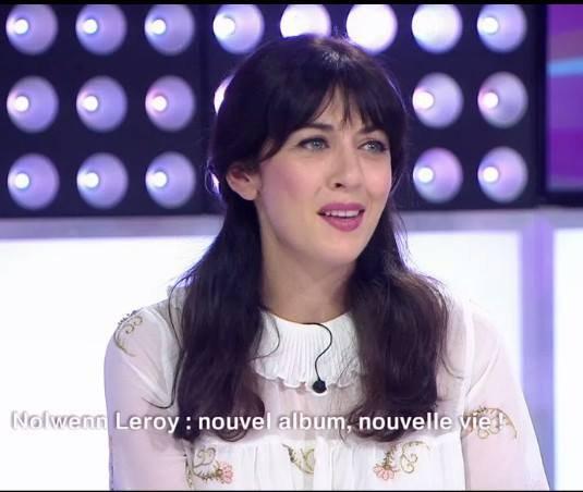"""Nolwenn Leroy dans l'émission """" C'est au programme """" sur France 2 le 14 septembre 2017 ( 2 )"""