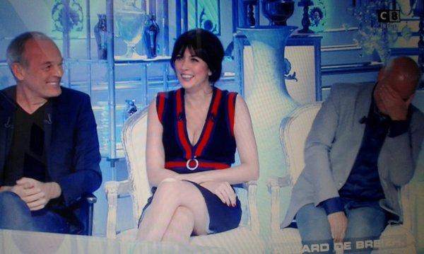 """Nolwenn Leroy dans l'émission """" salut les terriens """" sur C8 le samedi 23 septembre 2017"""