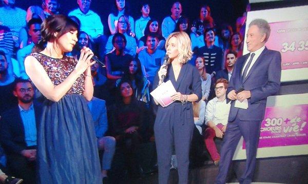 """Nolwenn Leroy dans l'émission """" 300 ch½urs pour + de vies les stars chantent leur idoles """" sur France 3 le 29 septembre 2017"""