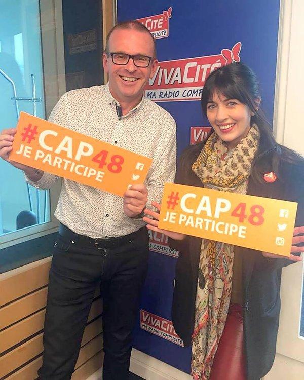 Nolwenn dans l'émission cap 48 sur la UNE RTBF en Belgique le 8 octobre 2017