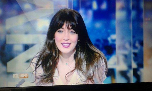 Nolwenn Leroy sur RTL infos du 13h en Belgique le 9 octobre 2017
