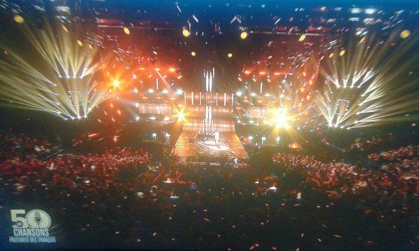 Nolwenn Leroy dans l'émission 50 chansons préférées des français sur M6 le 19 octobre 2017