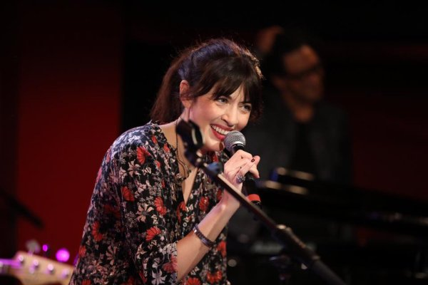 Nolwenn Leroy au studio RTL le 28 octobre 2017