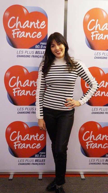 """Interview de Nolwenn Leroy sur la radio """" Chante France """" en présence de quelques auditeurs qui ont la chance de lui poser des questions le 17 novembre 2017"""