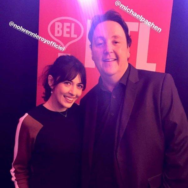 NOLWENN LEROY AU CONCERT BEL RTL A LA LOUVIÈRE EN BELGIQUE LE 26 NOVEMBRE 2017
