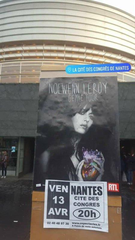 CONCERT NOLWENN LEROY A NANTES LE 13 AVRIL 2018