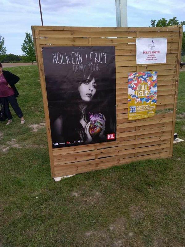 concert de Nolwenn Leroy au festival ATOUT C¼URS a Benquet ( 40 ) le 11 mai 2018 ( 1 )