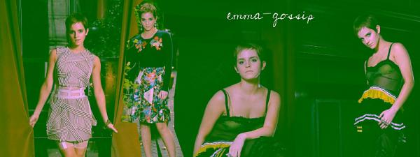 Messages d'Emma sur Twitter et Facebook, plus les derniers news !
